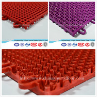 Yichen China factory high quality interlocking outdoor tile used dance floor