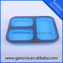Hot selling kitchen item vacuum silicone lunch box made in China