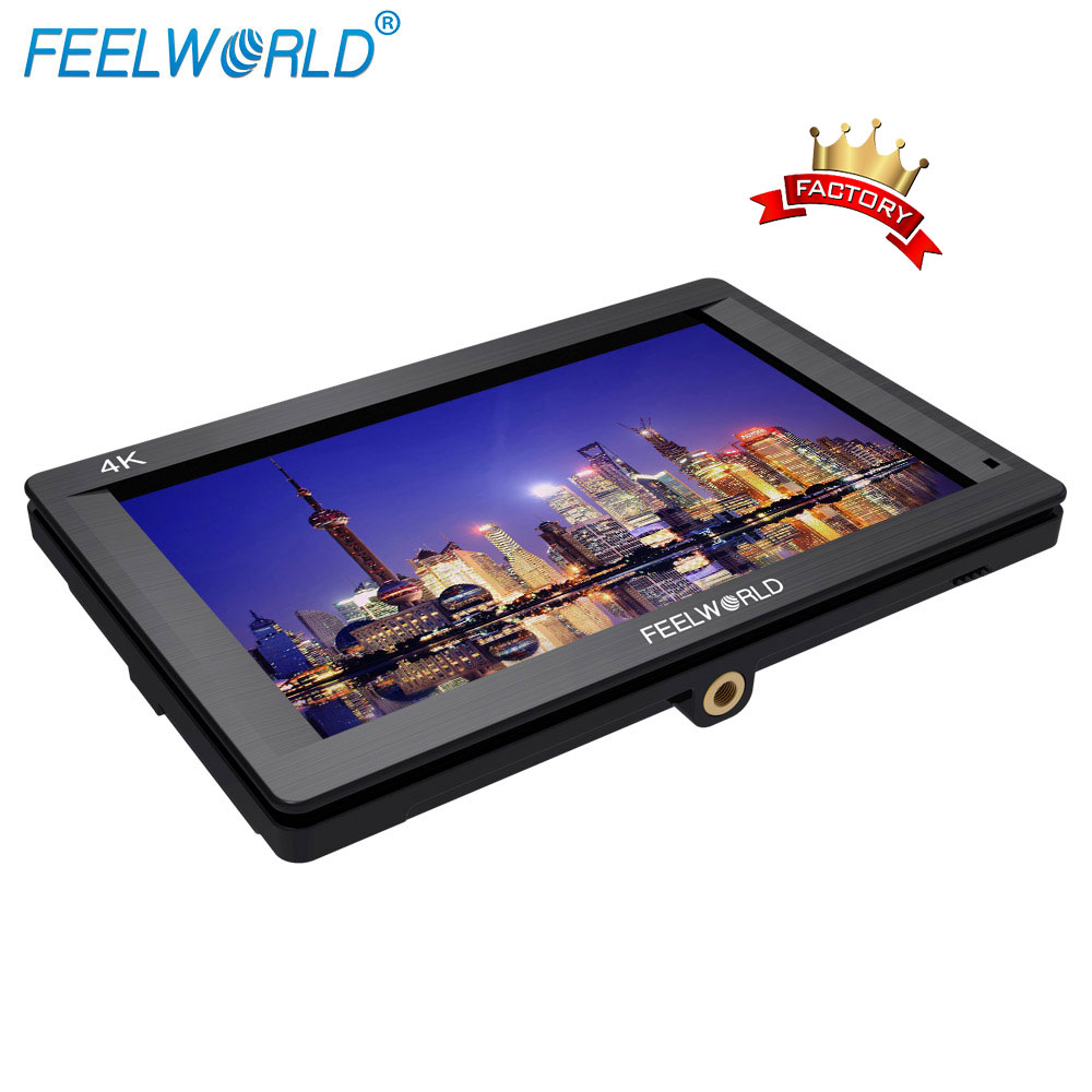FEELWORLD 7 inch on camera monitor <strong>reviews</strong> with 1920*1200 resolution support 4k signal
