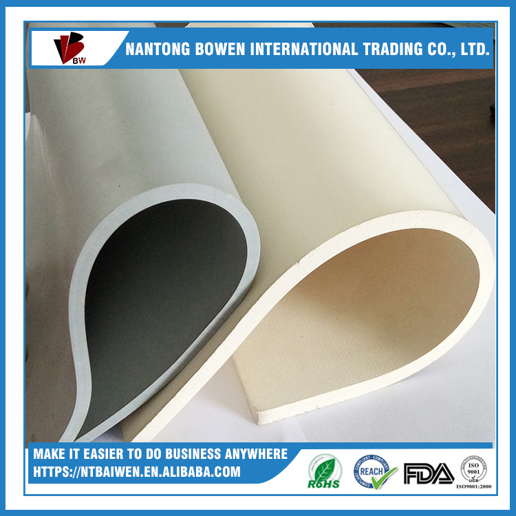 Non-flammable rubber pulley lagging sheets 10mm thickness