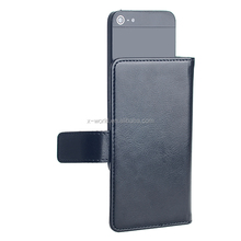 Multifunctional universal flip PU leather card slot holder mobile phone cover case