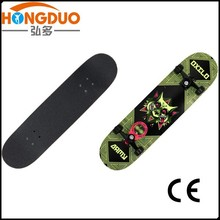 canadian maple wood skateboard/wood skateboad for adults