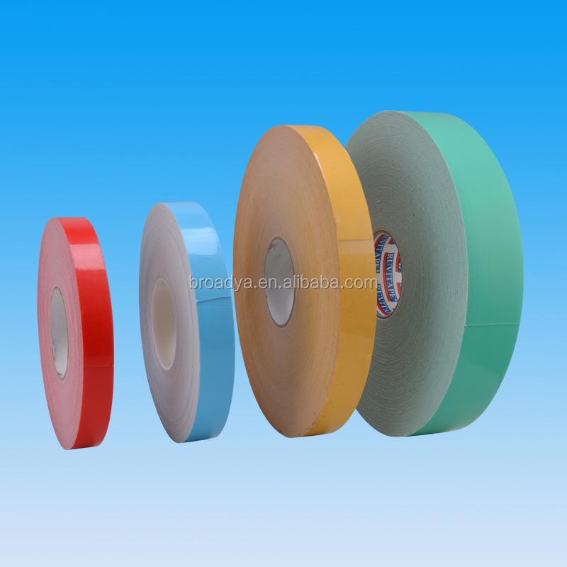 blue EVA foam double sided adhesive perforated tape