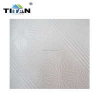 Low Price Suspended Gypsum Board Ceiling 12mm