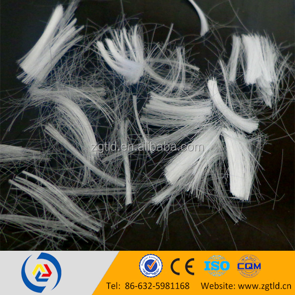 synthetic pp monofilament fiber reinforced concrete for building trades