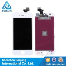 low cost touch screen lcd assembly, for iphone 5 lcd assemble for mobile phone