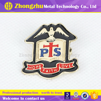 2015 First class quality colorful metal pin badge