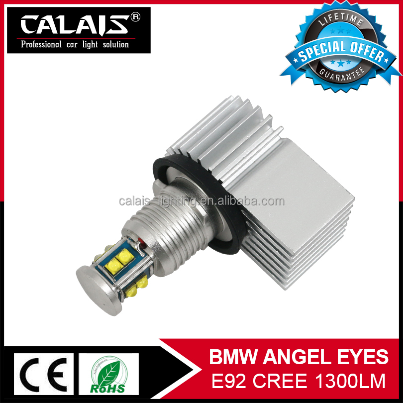 High power LED angel eyes e36 e90 e39 e60 e92 80W 1300lm C REE-XTE chips for bmw