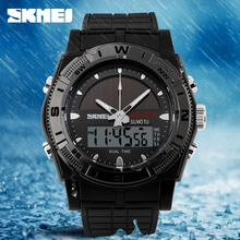 HOT design Dual time sports digital men watches Analog waterproof watch