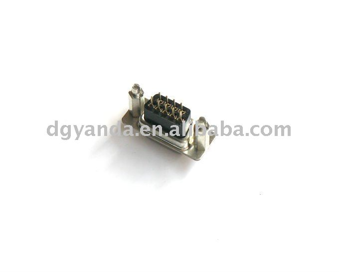 d-sub 9pin female board to board computer connector