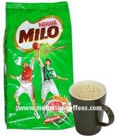 Nestle Milo, Nutritious Chocolate Malt Drink.
