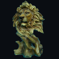 Customized Realistic Resin Tiger Statue Large Animal Model