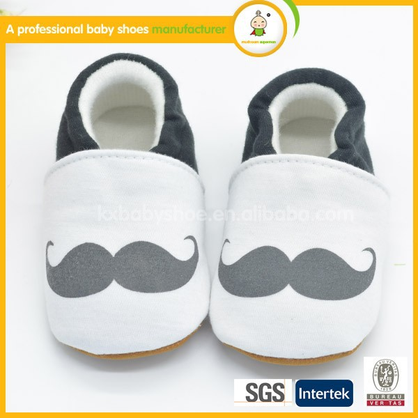 2015 best selling hot sale new fashion high quality soft newborn beard baby won shoes