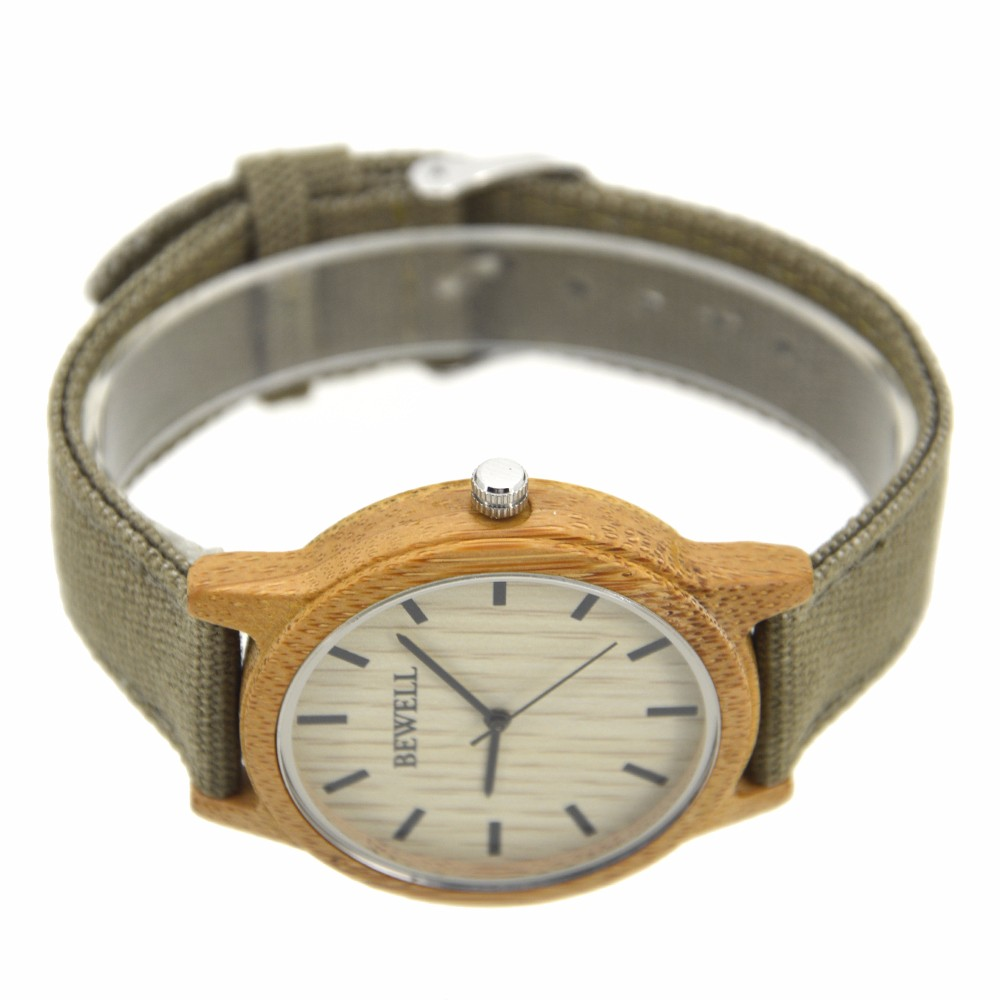 2017 mix color solar natural wood handmake fashion watch bewell sandalwood wrist watches