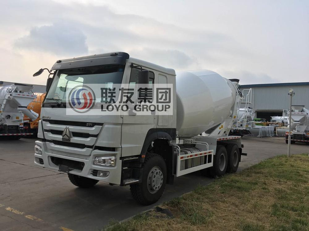SINOTRUK HOWO 10 Cubic meters Concrete Mixer Truck