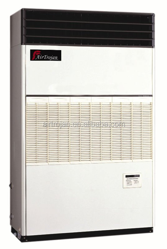 Water cooled packaged floor standing free blow type air conditioner, 26.5kW
