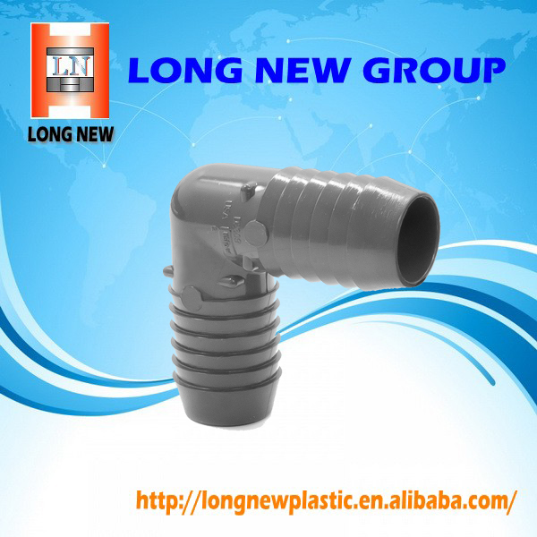 PVC pipe adapter plastic elbow pvc elbow injection mould