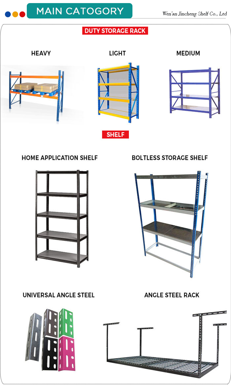 Adjustable Slotted-Angle Steel Rack Angle Steel Shelf, Clothing Racks and Shelf