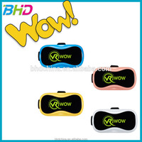 Shenzhen 3D VR Glasses Box 3.0 Virtual Reality Headset Video Viewing and Games With Adjustable Pupil and Object Distance Design