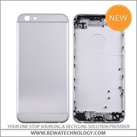 China Wholesale Cell Phone Parts Silver Back Cover Housing for Apple iPhone 6s