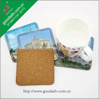 Cork backing Top quality hot sell hardboard coasters hardboard coasters
