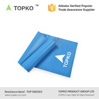 TOPKO home fitness door gym latex stretching resistance band