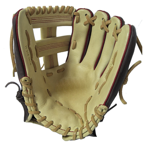 1Moq High-End Custom Kip Vintage Manufacturers Material Catcher Pro Leather Waterproof Baseball Lace Glove