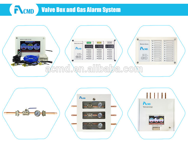 New Hospital Wards Wall mounted Nurse Calling System Bed Head Unit