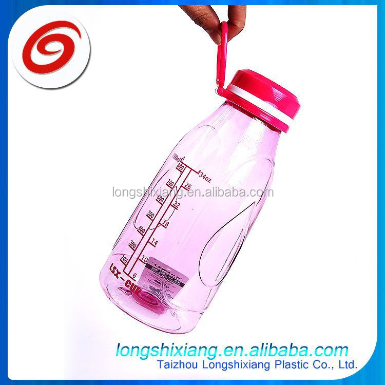 2015 750ml different types plastic water bottle