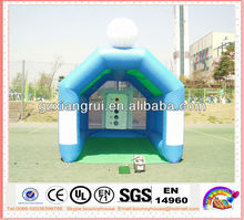 inflatable golf cage,inflatable golf gemes,golf shooting tent for sale