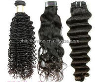 Machine Weft Mongolian Human Hair Sew in Hair Extensions