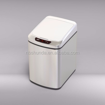 Small capacity automatic compost bin trash can