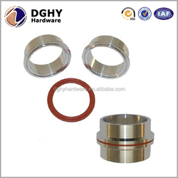High precision customized stainless steel/steel/aluminum/brass cnc turning parts inserts