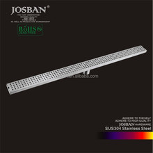 Factory wholesale low price bathroom 1000mm long linear 304 stainless steel floor drain