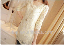 different types of lace solid color t shirts in 2013 winter
