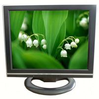 14 inch hannstar new panel lcd /led car monitor /stand alone lcd monitor for car