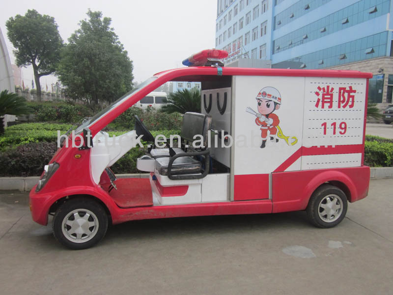 electric mini fire truck
