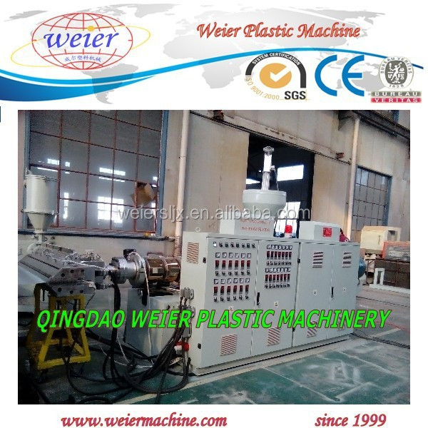 Plastic recycled PVC UPVC bamboo roofing sheet machine plant