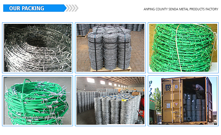 Cheap Prices Weight Barbed Wire Per Roll