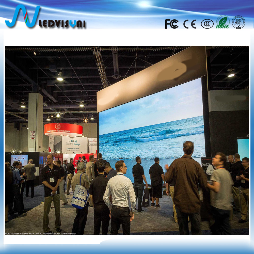 Shenzhen HD full color P1.667 fixed SMD indoor led display screen