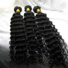 6a 18 inch Brazilian Deep Wave Hair Weave Fast Shipping Cheap Hair Extension for Black Women Unprocessed 3pcs Lot Hair Weft