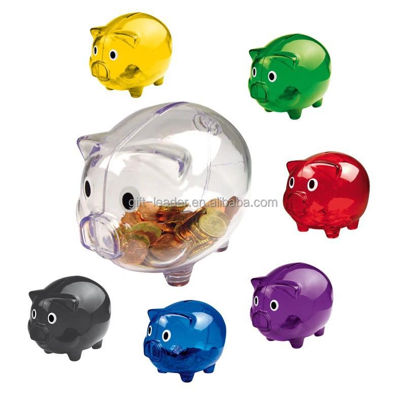 Plastic Pig Shape Piggy Bank Xscb0115 Buy Plastic Pig