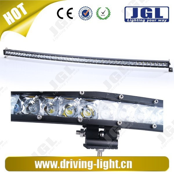 hot sale 4x4 curved led light bar 50 inch cree led light bar 100w 150w 200w 250w led offroad light bar 4d led truck light bar