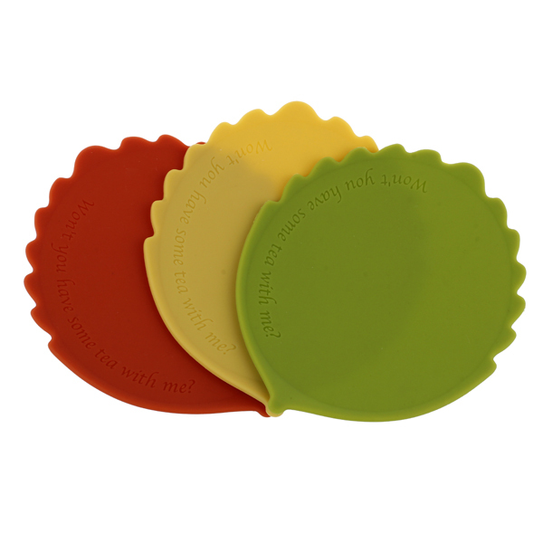new product colorful fashion tableware tool cup pot pan silicone hot flat mat