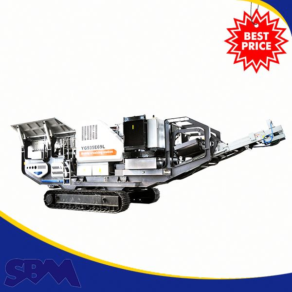 Hot Sale Electric Motor Multiple Trailers Mobile Used Rock