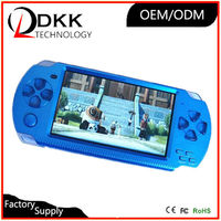 Hot Selling 4.3 inch 8GB support TF card Video Music Picture not for psp console pmp game player cheap handheld game console
