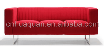 A586# Red office leisure fabric sofa couch,lounge sofa in living room sofas,leather sofa cushion furniture