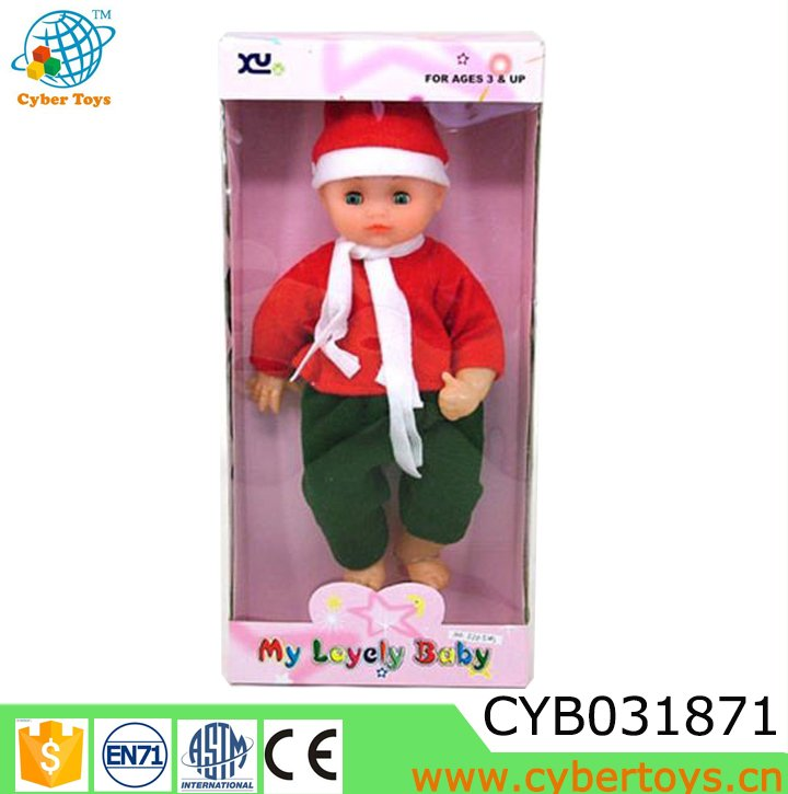 Hot sale baby doll,drink water pee function doll 14 inch