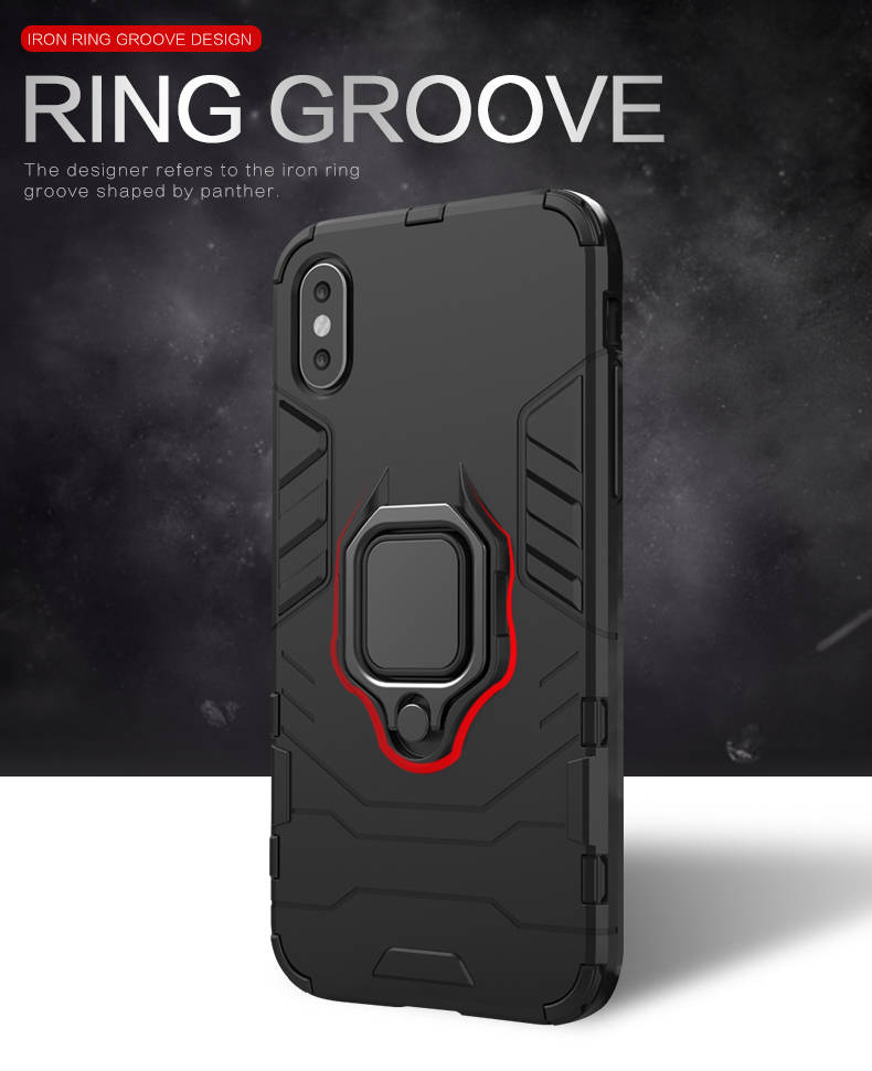 New Good Quality for iphone x case shock absorbing ring bumper case