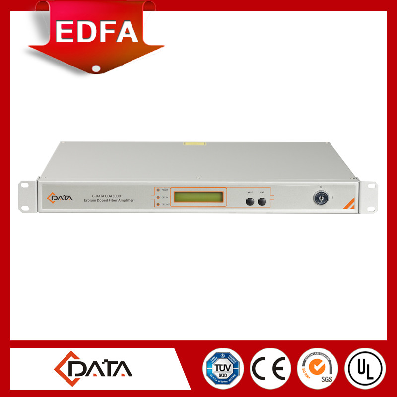 Fiber Optic Equipment High Power 1550nm EDFA can be used in HFC system of CATV and SDH system of Telecom